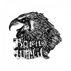 PIN BORN WILD EAGLE