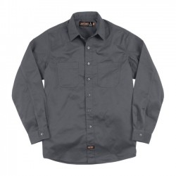 CAMISA JESSE JAMES INDUSTRY WORK GREY