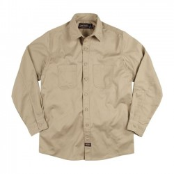CAMISA JESSE JAMES INDUSTRY WORK BEIGE