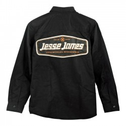 CAMISA JESSE JAMES INDUSTRY WORK LOGO BLACK