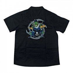 CAMISA LETHAL THREAT ZOMBIE DRUMMER