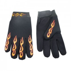 MECHANIC GLOVES FLAMES