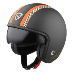 CASCO JET NEXX X 70 MATT BLACK/ORANGE