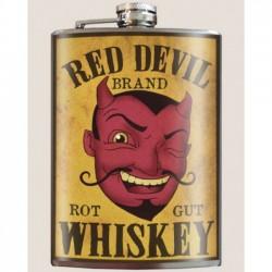 PETACA RED DEVIL WHISKEY
