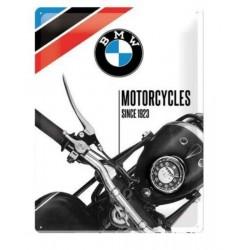 PLACA GARAJE BMW MOTORCYCLES SINCE 1925