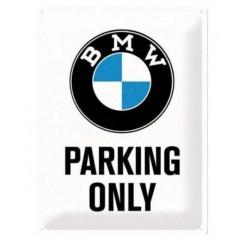 PLACA GARAJE BMW PARKING ONLY