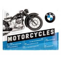 PLACA BMW MOTORCYCLES