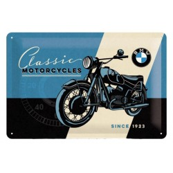 PLACA BMW MOTORCYCLE CLASSIC