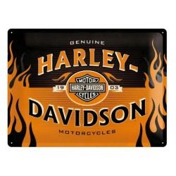PLACA GARAJE HARLEY DAVIDSON SPECIAL EDITION