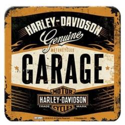 POSAVASOS HARLEY DAVIDSON GARAGE