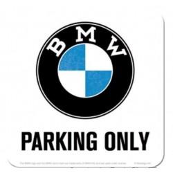POSAVASOS BMW PARKING ONLY