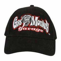 GORRA GAS MONKEY GARAGE SHOP NEGRA