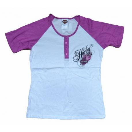 buy online b7995 99950 Chro Of Harley Mujer Camiseta Davidson Blaze 7YPvq