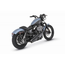 ESCAPE VANCE & HINES HARLEY DAVIDSON SPORTSTER XL SIDESHOTS BLAC