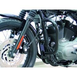 DEFENSA MOTOR 30mm. BLACK SPORTSTER EVO '04-UP