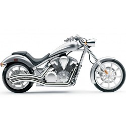 ESCAPE HONDA VTX1300 FURY COBRA SWEPT CHROM