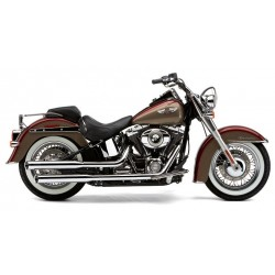 ESCAPE HARLEY DAVIDSON SOFTAIL DELUXE COBRA 3-INCH SLIP-ON MUFFL