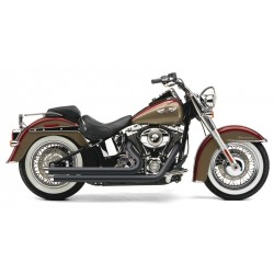 ESCAPE HARLEY DAVIDSON SOFTAIL COBRA SPEEDSTER SLASH DOWN BLACK