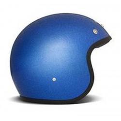 CASCO JET DMD CUSTOM GLITTER BLUE METAL FLAKE