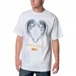 CAMISETA FMF SOUND WHITE