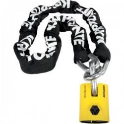 Chain and padlock NEW YORK 90 CM.