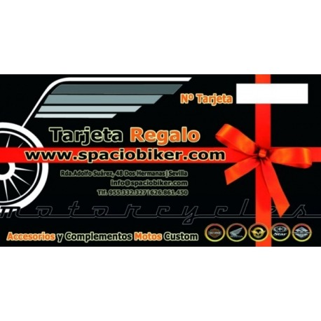SpacioBiker - Tarjeta Regalo