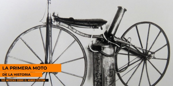 THE FIRST MOTORCYCLE OF HISTORY